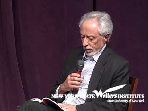 J.M. Coetzee and Paul Auster at the NYS Writers Institute in 2012