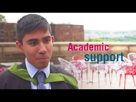 Business School graduates talk about the support they received during their studies