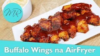 Buffalo Wings na AirFryer - Fritadeira Sem Óleo