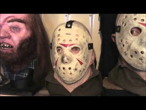 Jason Voorhees Part 3 Friday The 13 With 2 Masks Vendredi 13 Youtube