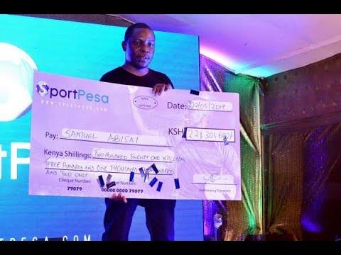 Politician wins Sh208 million SportPesa jackpot - Daily Nation