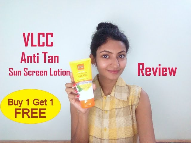 VLCC Anti Tan Sun Screen Lotion || Review & Demo || Its makeover tym || in Hindi