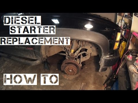 65 Diesel Starter Change How To Video - YouTube
