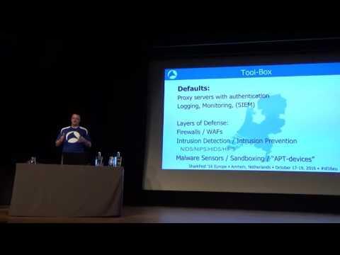 SF16EU - 11 Forensic Network Analysis (Christian Landström)