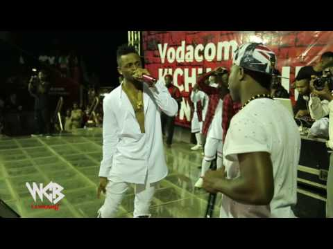 Diamond Platnumz  & Mafikizolo Live Perfomance At UDOM [DODOMA] Part 9