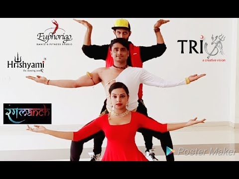 TRIOM PRODUCTIONS PRESENTS FUSION OF KATHAK,INDIAN CONTEMPORARY & HIPHOP DANCE