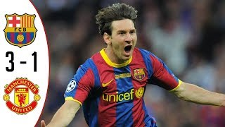 FC Barcelona 3-1 Manchester United | Highlights & Trophy | UCL Final - 2010/2011