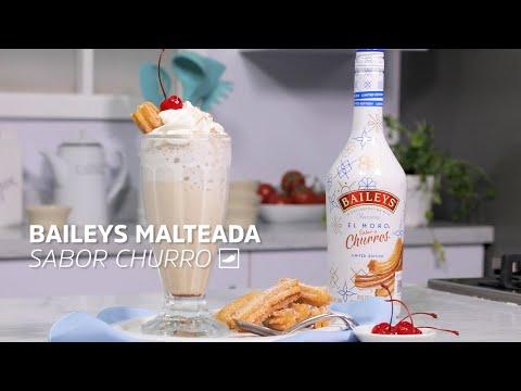 Aprende a preparar una malteada sabor a #churro con Baileys | #Culpables | CHILANGO