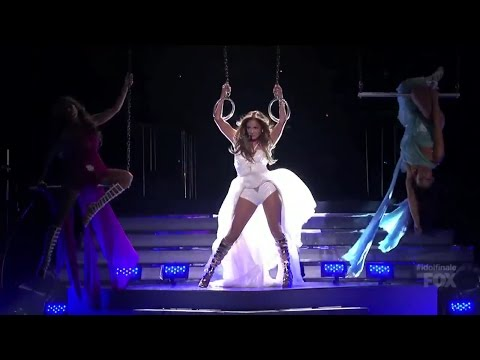 Jennifer Lopez - Live It Up feat. Pitbull - American Idol