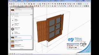 2014 Dibac For Sketchup. Tutorial 010. Create Dibac Trim Component