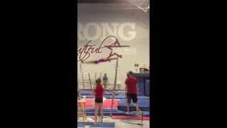 Jaeger on Uneven Bars - Summer 2015