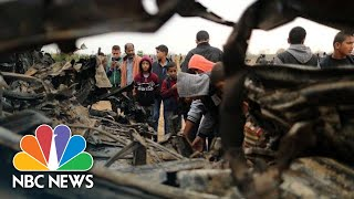 Seven Palestinians, One Israeli Officer Killed During Undercover Gaza Operation | NBC News