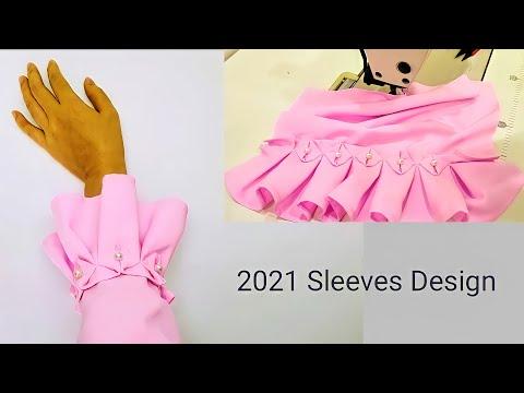 Thiết Kế Tay Áo Đẹp| Sleeve Design| Sleeve Cutting  #2