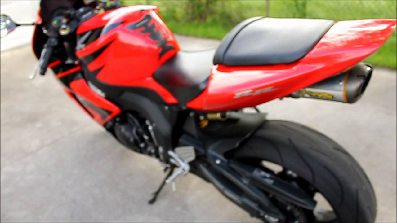 2007 Honda CBR 1000RR Walkaround - YouTube