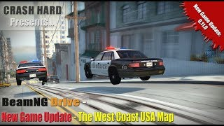 BeamNG Drive - New Game Update - The West Coast USA Map