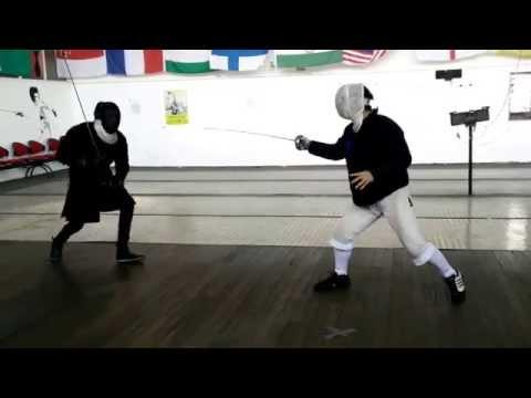 HEMA vs Fencer 2015