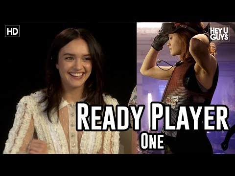 Olivia Cooke on Ready Player One - Steven Spielberg