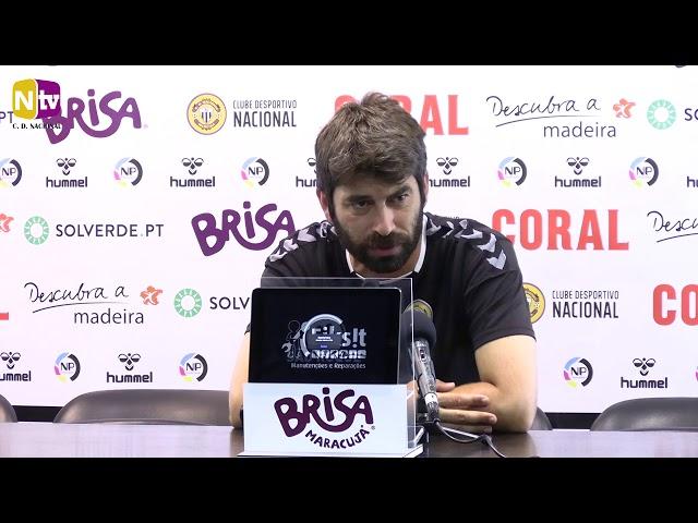 Luís Freire na antevisão ao Paços de Ferreira: