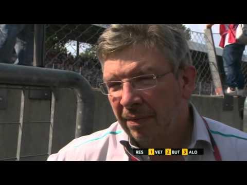 F1 2011 Italy post race Ross Brawn BBC.mp4