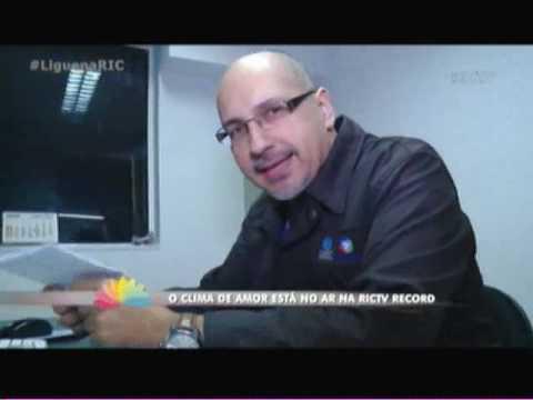 O amor está no ar na RICTV Record Itajaí   2