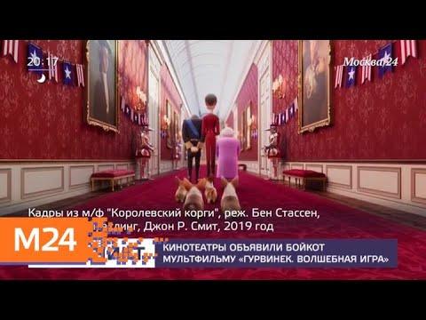 """Кинотеатры объявили бойкот мультфильму """"Гурвинек. Волшебная игра"""" - Москва 24"""