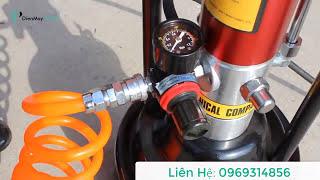 Video Hướng dẫn sử dụng máy bơm mỡ khí nén