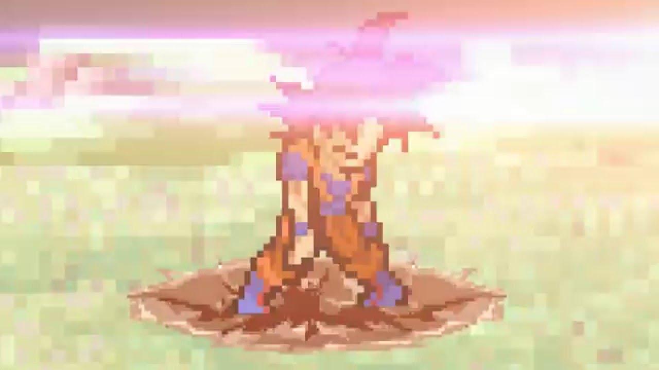 Ssg Goku Vs Golden Frieza What If Sprite Battle Youtube