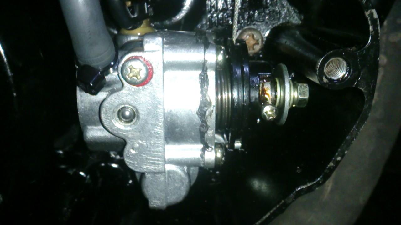 tes pompa olsam yamaha rx king 135/yamaha rx 135 autolube pump