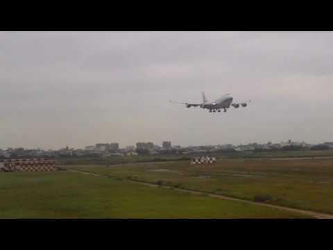 2016.5.17 China Airlines Boeing 747-400 Taipei To Naha Full flight part 1