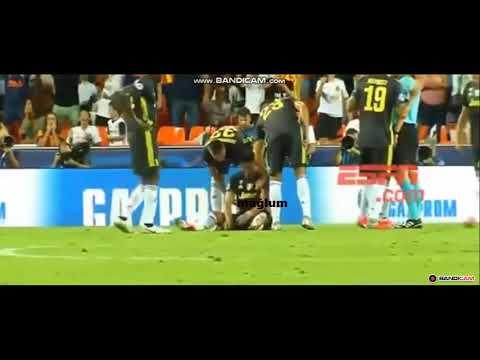 Ronaldo Kırmızı Kart Görünce Ağladı