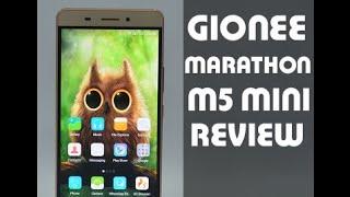 Gionee Marathon M5 mini Review