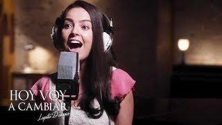 Hoy voy a cambiar | Lupita D'Alessio graba y triunfa con su primera canción