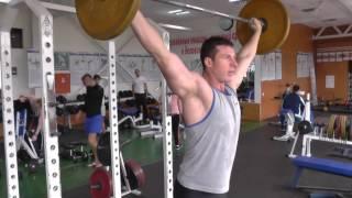 """#Тяжелаяатлетика """"Дополнительное упражнение для рывка"""" Weightlifting"""