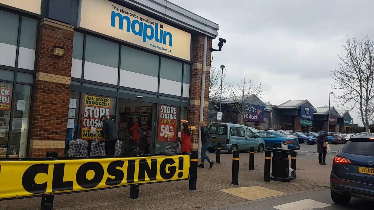 Maplin MEGA Closing Down Sale!