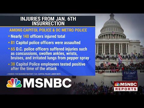 DOJ: 440 Have Been Arrested In Capitol Riot Investigation