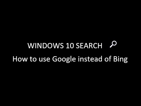 how to change your search engine to google