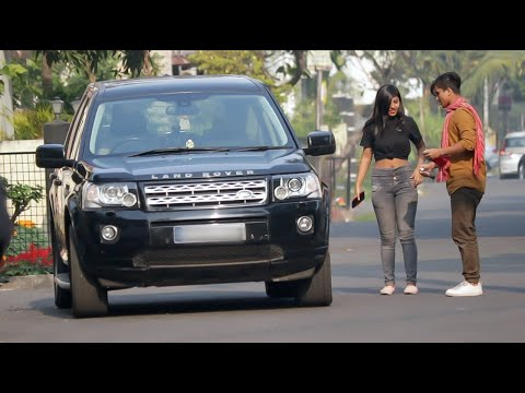   GOLD DIGGER Exposed by DESI LAUNDA - GOLD DIGGER PRANK WITH RANGE ROVER   Canbee Lifestyle  