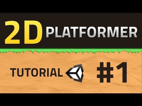 1. How to make a 2D Platformer - Basics - Unity Tutorial