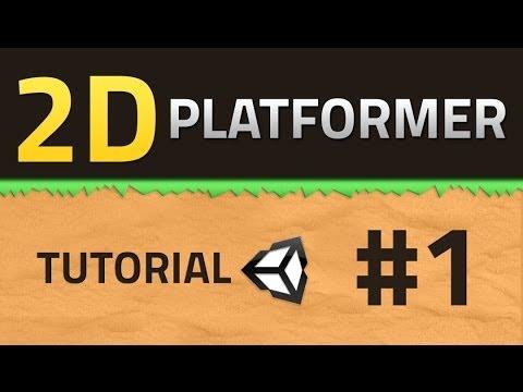 1 How To Make A 2d Platformer Basics Unity Tutorial