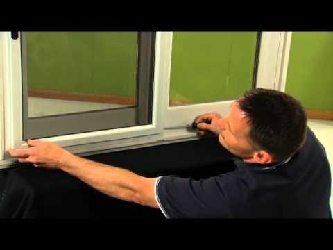 How to Adjust the Screen on a Patio Door