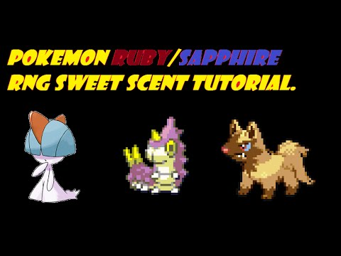 Pokemon (Ruby/Sapphire) RNG Sweet Scent Tutorial