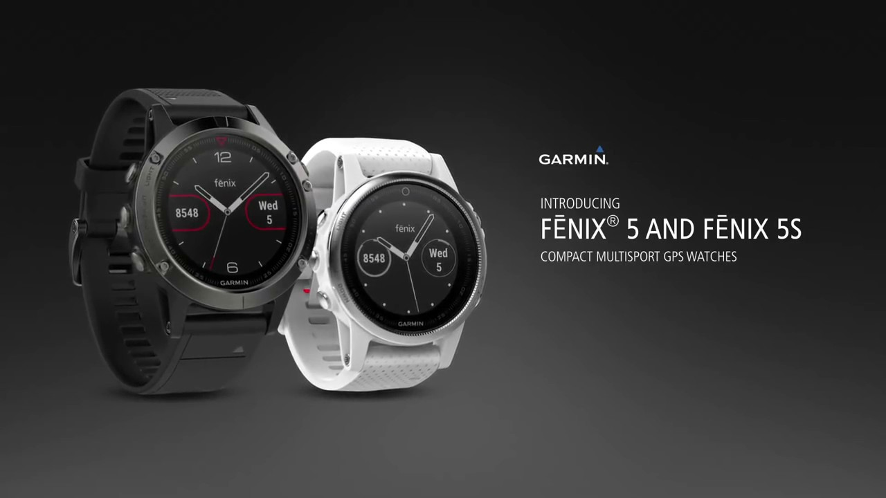 Garmin Sports Watch >> Garmin Fenix 5 and Fenix 5S - A quick look at the brand ...