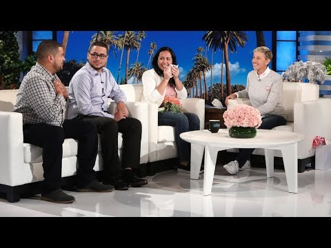 Ellen Chats with Las Vegas Nurse Zully Hernandez About the Tragedy in Her Hometown