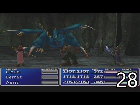 Final Fantasy VII Walkthrough Part 28 - Mt.Nibel & Materia Keeper Boss Battle HD