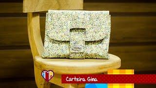 Bolsa carteira de tecido Gina – Maria Adna Ateliê