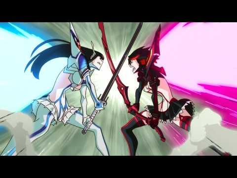 Kill La Kill - Ryuuko Vs Satsuki Fights Unclothed