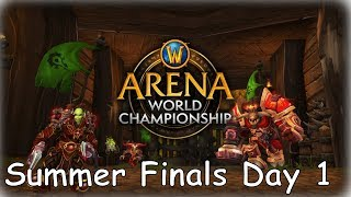 SUMMER FINALS DAY 1 - World Of Warcraft | WoW Arena Championship FIRST ROUND