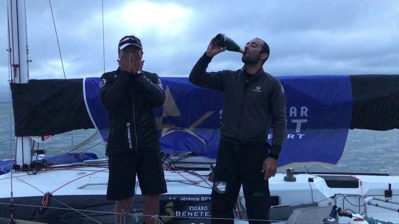 EN FRANCAIS Ben Schwartz   2018 Sevenstar Round Britain and Ireland Race: El Velosolex SL Energ