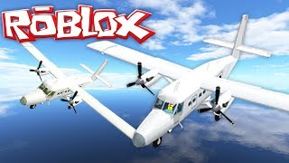ROBLOX || FLYING PLANES IN VEHICLE SIM!!