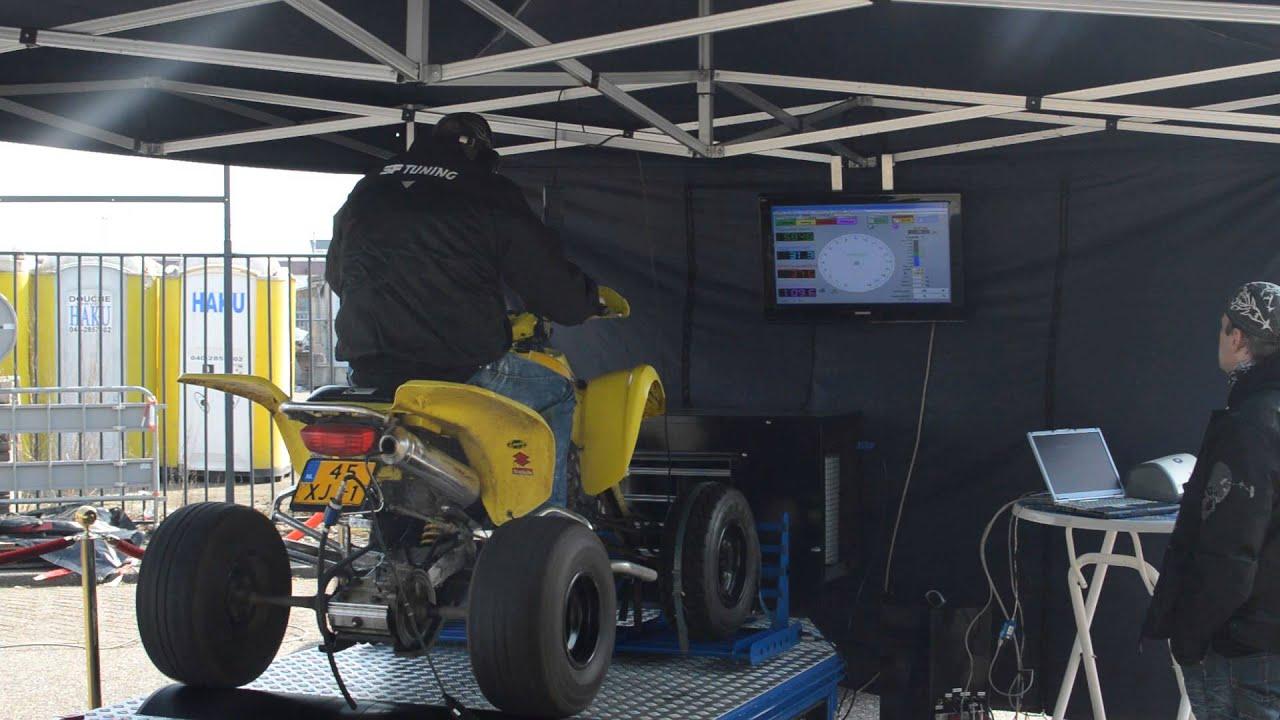 Top Speed Run Suzuki Z400 Testbank Open Dag DCA Motorcycles - YouTube
